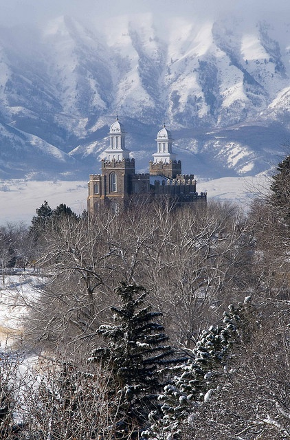 Logan Temple Utah. I want to go see this place one day. Please check out my website thanks. www.photopix.co.nz