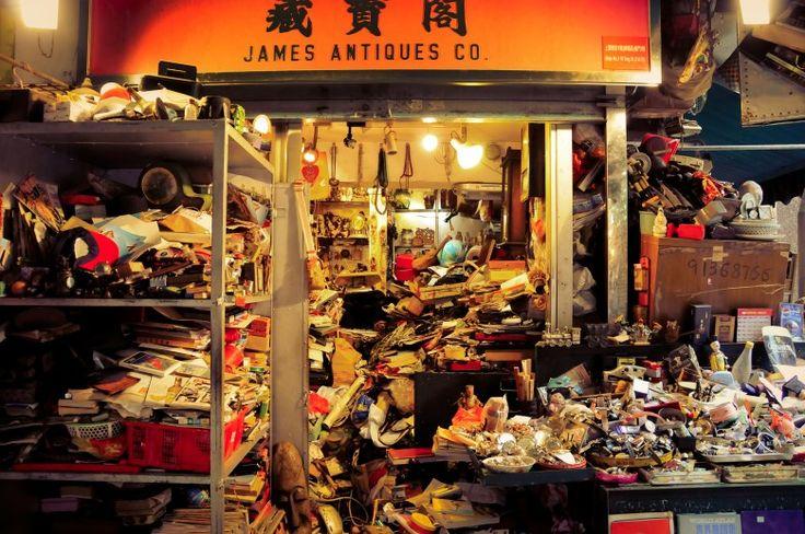 Hong Kong Antique Market Cat Street