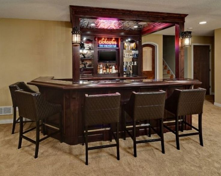 Best Home Bar Design Images On Pinterest Basement Ideas Home