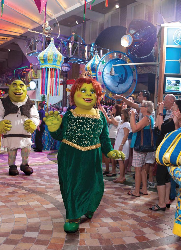 Podrías encontrarte con Fiona, esposa  y compañera de Aventuras de Shrek