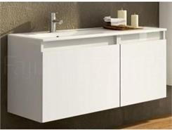 Elita szafka podumywalkowa z umywalką ceramiczną ATU 90 WHITE (164879+164881+20592) - 0