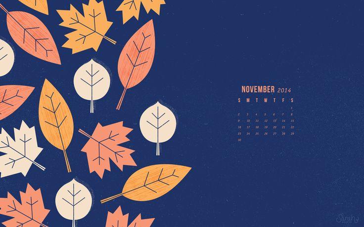 November 2014 Calendar Wallpapers - Sarah Hearts