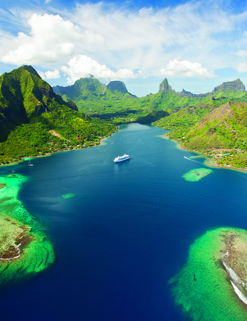 Paul Gauguin Cruises operates the m/s Paul Gauguin, the renowned, award-winning, 5-star-plus, luxury cruise ship built specifically to sail the waters of Tahiti, French Polynesia and the South Pacific. All-inclusive.