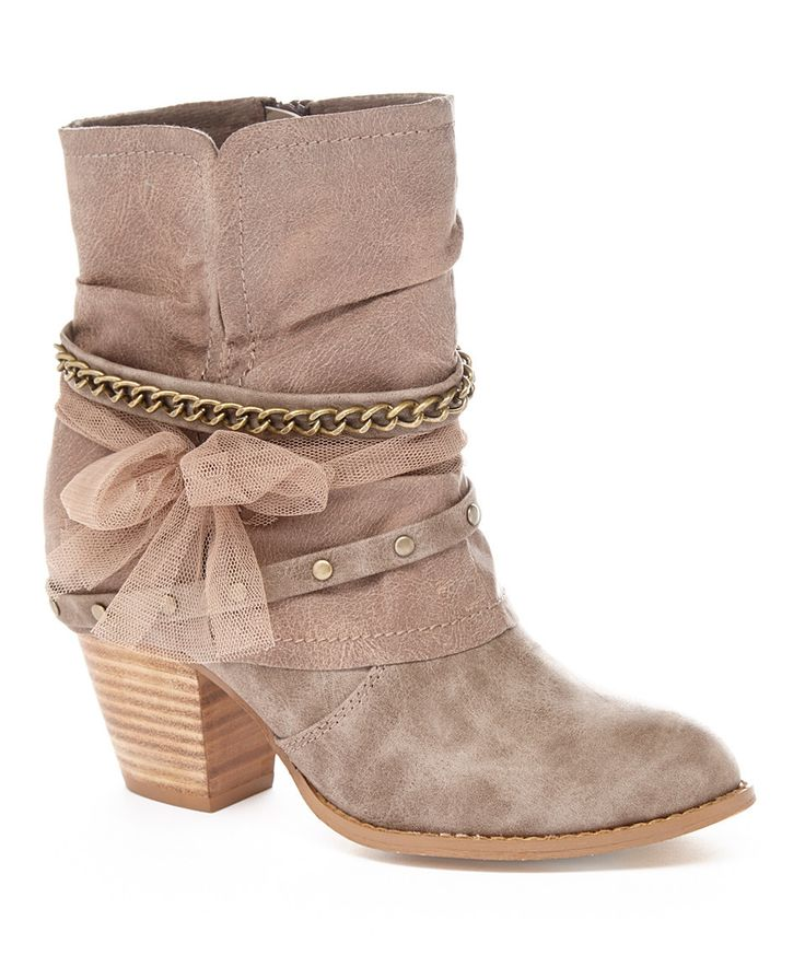 Another great find on #zulily! Jellypop Stone Distressed Blake Ankle Boot by Jellypop #zulilyfinds