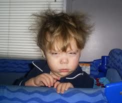 Me, this morning.
