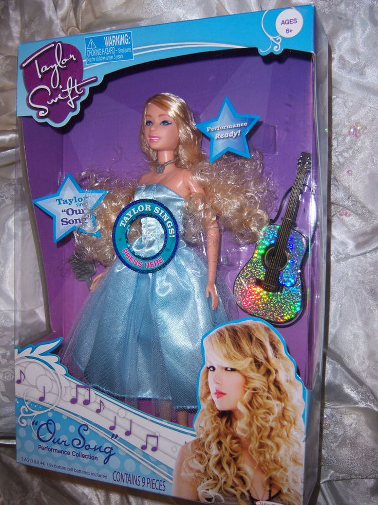 """Taylor Swift Doll """"Our Song"""" Singing Doll #jakkspacific #DollswithClothingAccessories"""