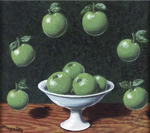 Le principe d Archimède, de Rene Magritte (1898-1967, Belgium)