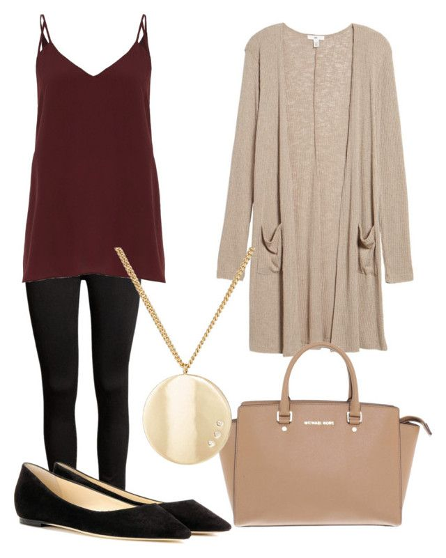 """""""Untitled #31"""" by devih on Polyvore featuring River Island, BP., Jimmy Choo, Michael Kors and Jules Smith"""
