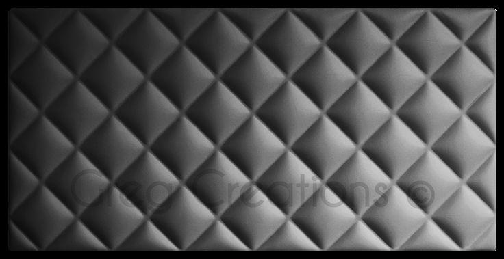 Cabecero serie CLASSIC tapizado en polipiel color plata.