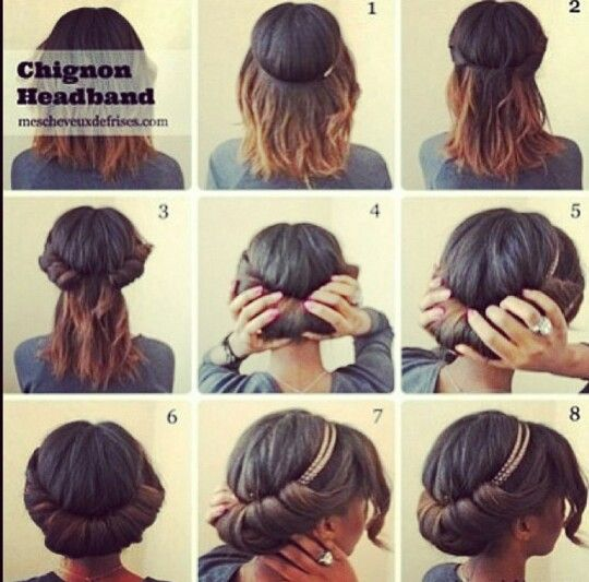 medieval updo with headband