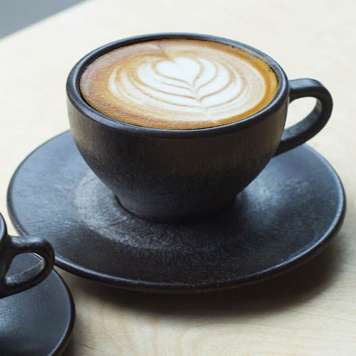 Kaffeeform - cups made from recycled coffee grounds, natural glue, and wood particles