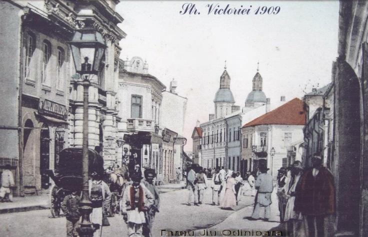Targu Jiu - str Victoriei - 1909