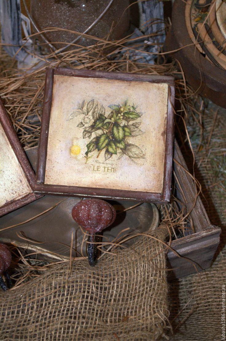 """Купить Пано-вешалка """"Записки ботаника"""" - пано-вешалка, травы, пряности, вешалка для кухни"""