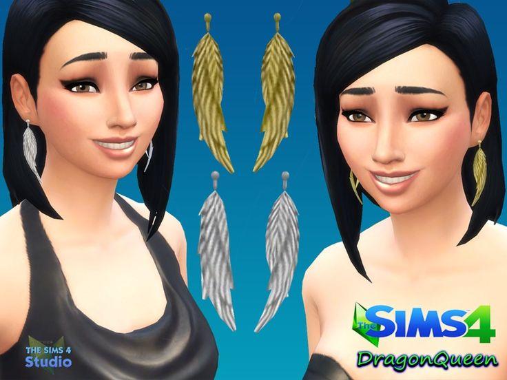 DragonQueen's Wings Earring Set