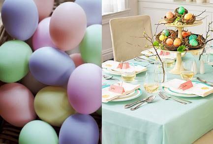 Если захочется создать в интерьере весеннее настроение, без мятного оттенка не обойтись. Мятный, пастельный розовый, лимонный, сиреневый, нежно-голубой — это цвета весны и Пасхи. Чтобы декорировать дом к этому празднику или к приходу весны, смешайте пастельные тона травы, неба и цветов — и ваш дом наполнится радостью и жизнью!