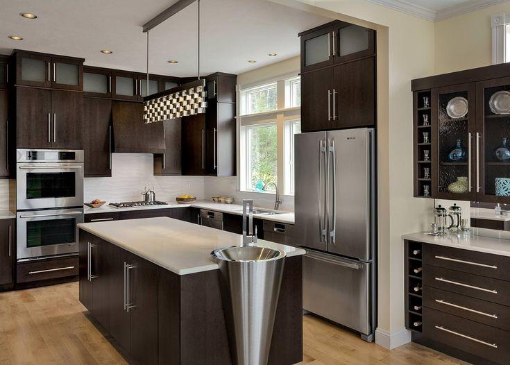 Entwerfen einer Küche umgestalten mit einem modernen Design