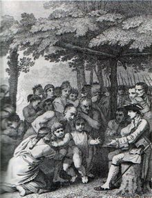 It was during Pontiac's War that Bouquet gained a certain lasting infamy. In a series of letters during the summer of 1763 between Bouquet and his commander, General Jeffery Amherst, the idea was raised of infecting the Indians who had besieged Fort Pitt with smallpox by giving them infected blankets from the fort's smallpox hospital.