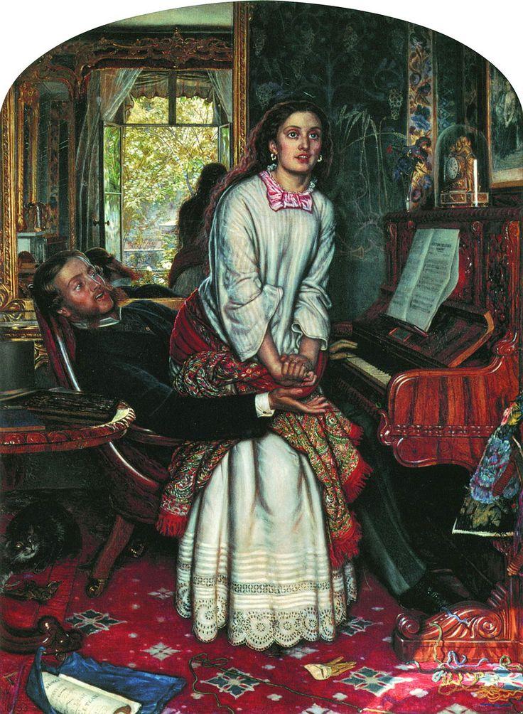 El despertar de la conciencia   El autor de esta obra es William Holman Hunt (1827-1910), uno de los pintores británicos fundadores de la ...