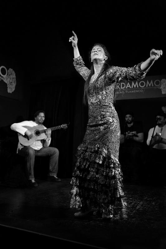 Flamenco: Paloma Fantova en el Cardamomo Photo: Charis Mundy