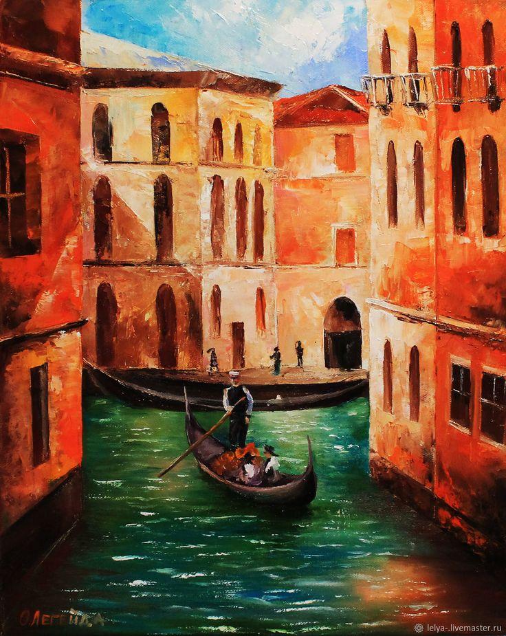 Венеция картина маслом