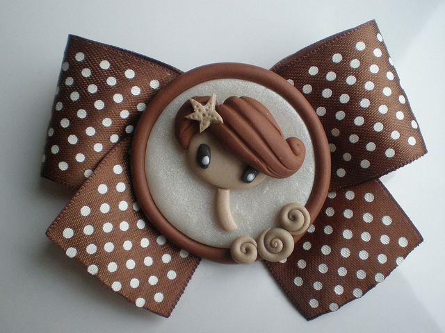 broche fimo |Polymer Clay, masa flexible, cold porcelain, masa francesa, porcelana fria                                                                                                                                                     Más