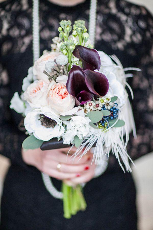 Eine grandiose Inspiration für eine Hochzeit im 20er Jahre Look   Friedatheres.com