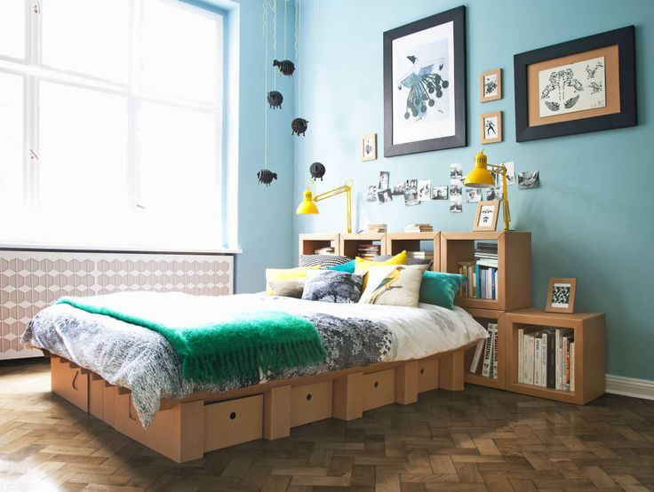 6 simple bed frames you can DIY (From Sarah Tolle - Homify Canada)
