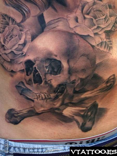 106 best skulltastic images on pinterest day of dead for Skull and crossbones tattoo