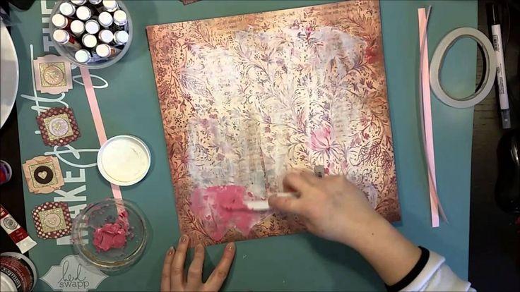 #148 Pälsbebis - Scrapbook Process