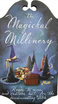Magick Wicca Witch Witchcraft:  The #Magickal #Millinery.
