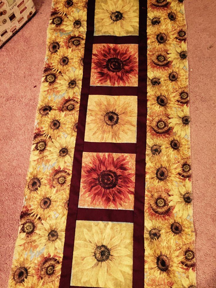 Sunflower Table Runner.