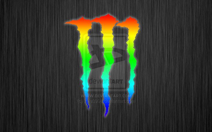 Monster Energy Multicolore | Monster Energy | Pinterest ...