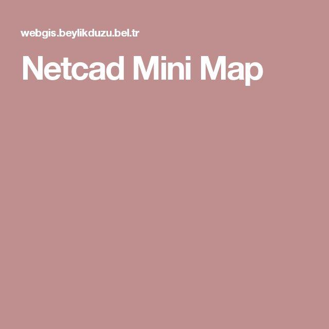 Netcad Mini Map