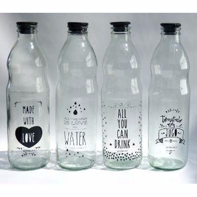 etiquetas en vinilo para personalizar frascos y botellas.