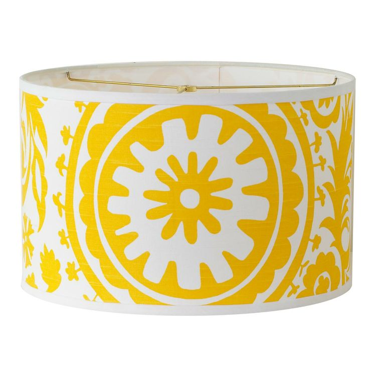 Suzani Drum Lamp Shade In Bright Colors Colorful