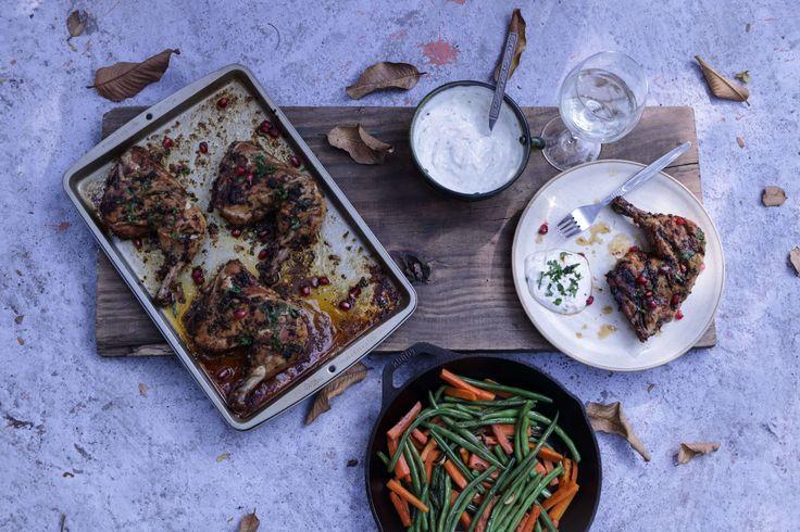 Garlic And Herb Grilled Chicken