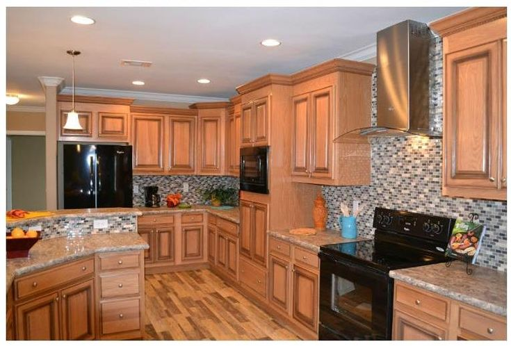 17 Best Images About Kitchens On Pinterest Oak Cabinets