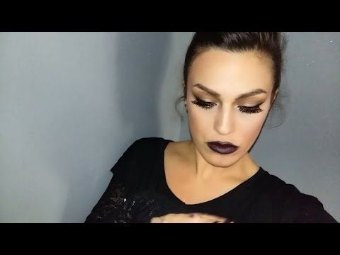 Make-up tutorial Rossetto scuro+ palette Mulac - YouTube