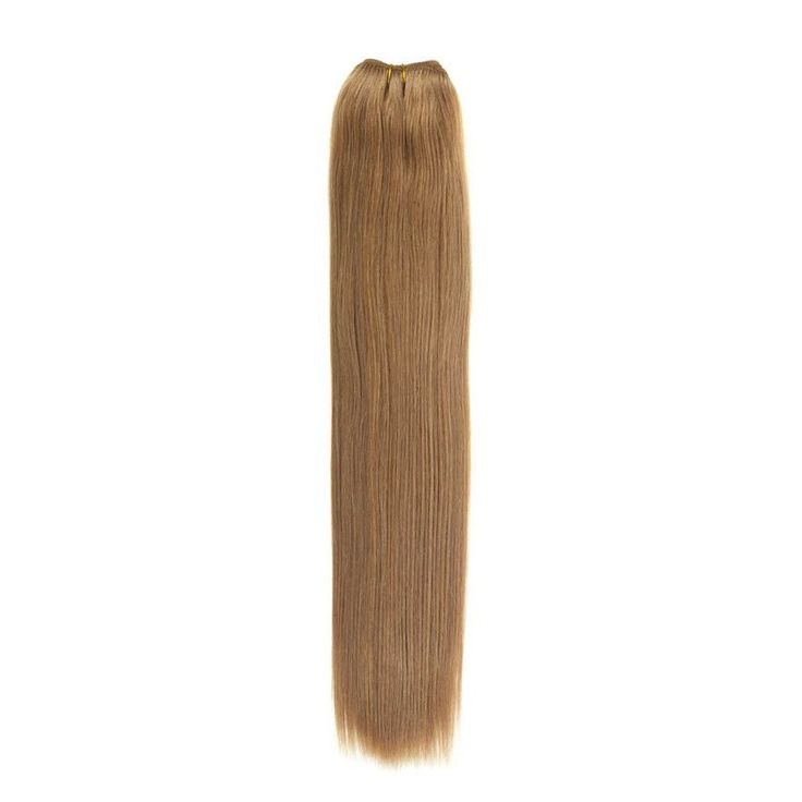 Euro Silky Weave | Human Hair Extensions | 18 inch | Light Mousey Brown (18)