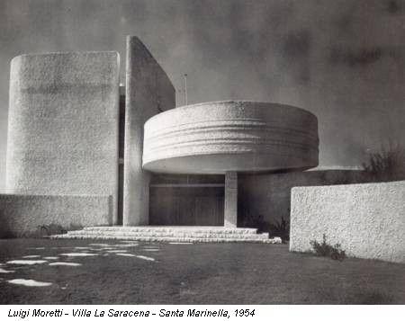 Casa la Saracena,Luigi Moretti, 1954
