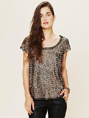 Blusa con estampado en color cobre #LookCasual