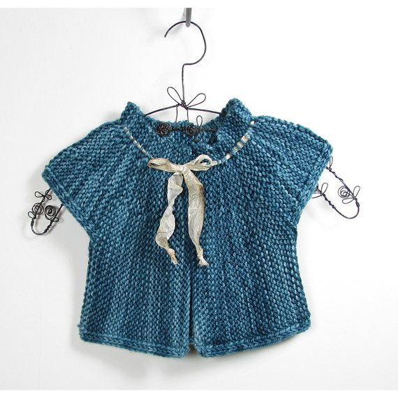 Baby Clothes  6/12 Months Teal Unisex London by TwoStixStudios