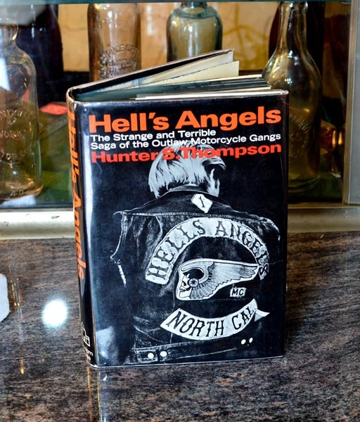 "Hell's Angels - Hunter S.Thompson  ""uncompromising look at the Hells Angels motorcycle club, during a time when the gang was highly feared and accused of numerous criminal activities."""