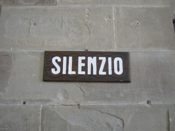The most important word at La Verna: SILENCE