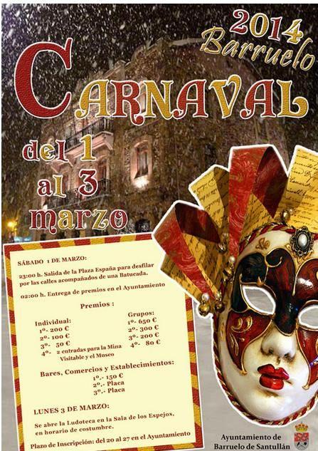 Carnaval Barruelo 2014 Palencia