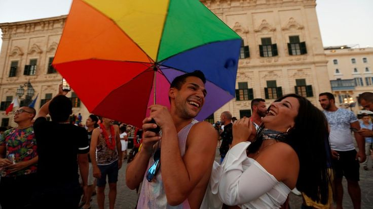 """Catholic Malta votes to legalise same-sex marriage https://tmbw.news/catholic-malta-votes-to-legalise-same-sex-marriage  The staunchly Catholic island of Malta has voted to legalise same-sex marriage.Parliament agreed to amend Malta's marriage act, replacing words like """"husband"""" and """"wife"""" with the gender-neutral alternative """"spouse"""".It also replaced """"mother"""" and """"father"""" with """"parent who gave birth"""" and """"parent who did not give birth"""".The change marks another major milestone for the island…"""