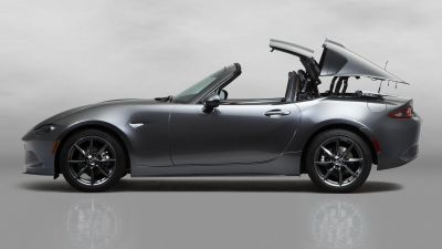 New Mazda MX-5 Retractable Fastback by drive.gr