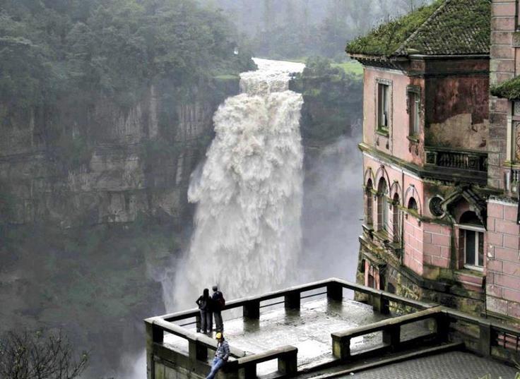 Tequendama Falls Bogata Columbia