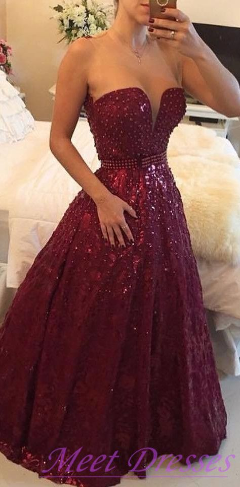 41 best red prom dresses images on Pinterest