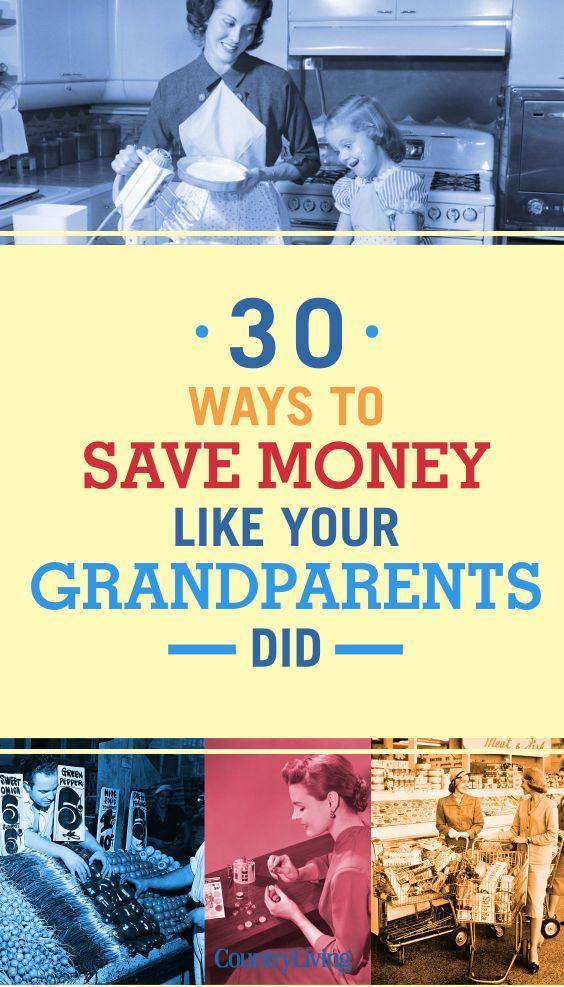 30 Möglichkeiten, wie Ihre Großeltern Geld zu sparen. #savemoneytips #frugal #frugal …   – Save Money Tips